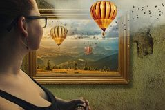 Inramad illusion