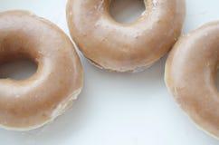 Inramade Donuts Arkivbild