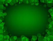 inramnin den gröna vektorn Royaltyfri Foto