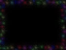 inramnin den multicolor mosaiken Royaltyfri Foto