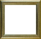 inramnin guld Fotografering för Bildbyråer