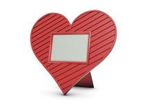 inramnin hjärtafotoet Fotografering för Bildbyråer