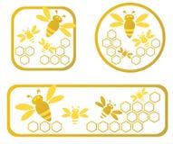 inramniner honung Arkivbild