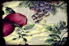inramning fruktgrunge Arkivfoto