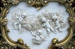 inramninga änglar royaltyfri foto