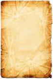 inramnintt organiskt papper för grunge Arkivbilder