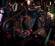 inre ånga för detaljmotor Royaltyfri Bild