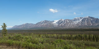 Inre Alaska Arkivfoton