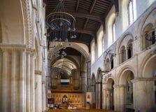 Inre av århundradet för th för Rochester slott 12 Slotten och fördärvar av befästningar Kent sydostliga England Arkivbilder