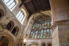 Inre av århundradet för th för Rochester slott 12 Slotten och fördärvar av befästningar Kent sydostliga England Arkivbild