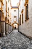 Inre av Abbey Melk i Österrike Royaltyfria Bilder