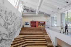 Inre av Berkeley Art Museum och det Stillahavs- filmarkivet Royaltyfria Bilder