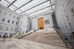 Inre av byggnaden för allmän personal - filial av tillståndet honom Royaltyfri Fotografi