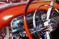 Inre av Cadillac Arkivbilder