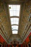 Inre av Catherine Palace i Stpetersburg Royaltyfri Foto