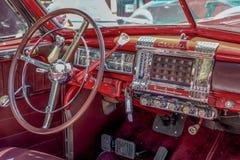 Inre av Chrysler nya Yorker arkivfoto