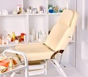 Inre av cosmetologysalongen Royaltyfria Bilder