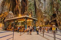 Inre av de Batu grottorna Kuala Lumpur, Malaysia Royaltyfria Bilder