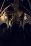 Inre av den övergav katolska kyrkan - buffel, New York Royaltyfri Bild
