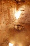 Inre av den Anasazi puebloen Royaltyfria Bilder