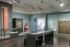 Inre av den asiatiska konstmuseet Royaltyfri Bild