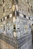 Inre av den bärnstensfärgade fortslotten, Jaipur, Indien Royaltyfri Bild