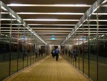 Inre av den Changi flygplatsen i Singapore Royaltyfri Foto