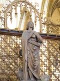 Inre av den helgonVitus domkyrkan, Prague Royaltyfria Foton
