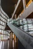 Inre av den moderna arkitekturen Royaltyfri Foto