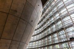 Inre av den moderna arkitekturen Royaltyfri Fotografi