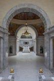 Inre av den statliga Kapitolium av Utah Arkivbilder