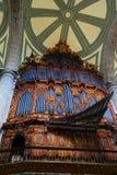 Inre av den storstads- domkyrkan II Arkivfoto