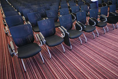 Inre av den tomma konferenskorridoren Royaltyfri Foto