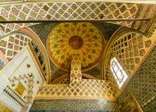 Inre av den Topkapi slotten Royaltyfri Foto