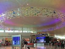 Inre av den trevliga Dallas Love Field flygplatsen Fotografering för Bildbyråer
