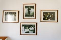 Inre av den Zeki MÃ ¼en ren museet i Bodrum, Turkiet Arkivfoton