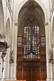 Inre av det kyrkliga helgonet Walburga Royaltyfria Bilder