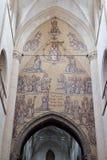 Inre av det kyrkliga helgonet Walburga Royaltyfria Foton