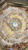 Inre av det Medici kapellet Florence royaltyfria bilder