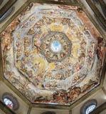 Inre av det Medici kapellet Florence fotografering för bildbyråer
