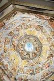 Inre av det Medici kapellet Florence royaltyfri fotografi