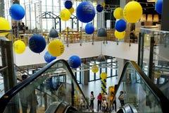 Inre av det nya Ikea lagret i öl Sheva Royaltyfri Fotografi