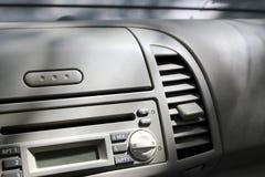 Inre av en liten bil, detalj Royaltyfria Bilder
