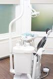 Inre av ett nytt modernt tand- kontor royaltyfri fotografi