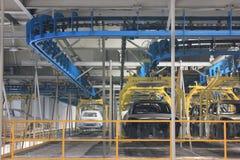 Inre av fabriken Royaltyfria Foton