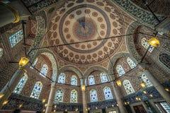 Inre av gravvalvet av Sultan Mehmed III Royaltyfri Fotografi