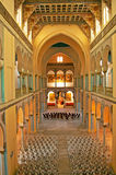 Inre av helgonet Louis Cathedral Carthage, Tunisien Royaltyfria Foton