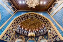 Inre av Ibn Battuta Mall Arkivfoto