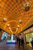 Inre av Ibn Battuta Mall Royaltyfri Foto