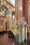 Inre av Jasna Gora Pauline Order Monastery och fristaden i Czestochowa, Polen Royaltyfria Bilder